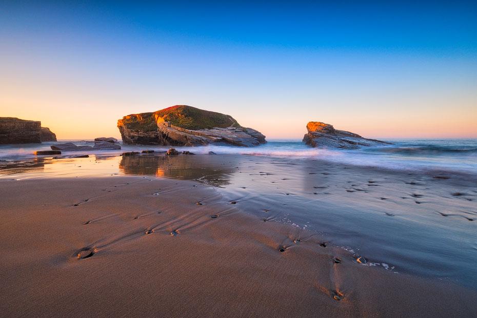 Praia das Illas Sunset