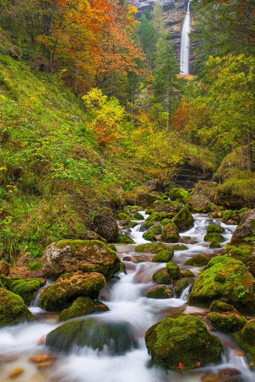 Lower Peričnik Waterfall