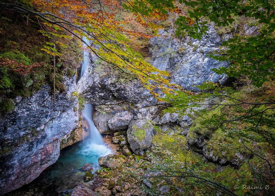 Big Možnica Waterfall