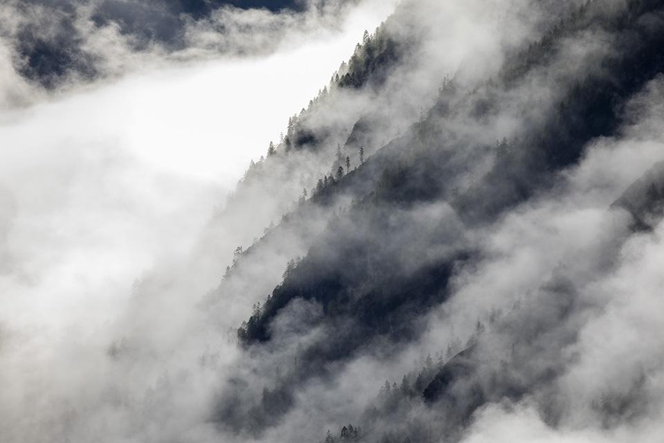 World of mist