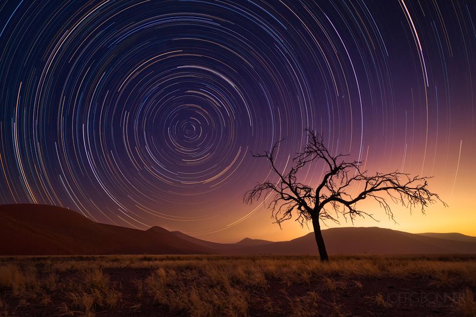 A Desert's Sky