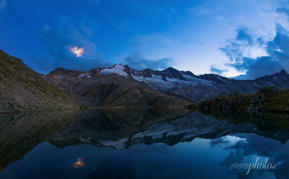 Lake In The Zillertal Mountains