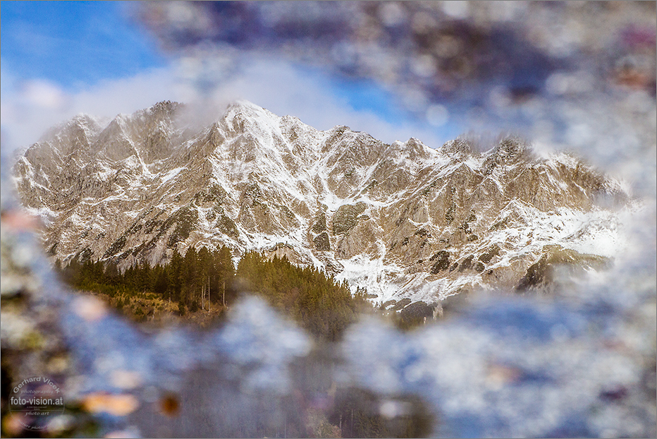 Mountains in mirror